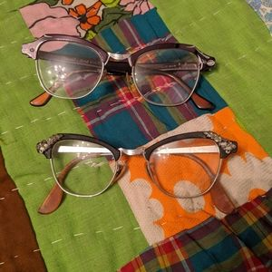 Lot of 2 pair of vintage glasses